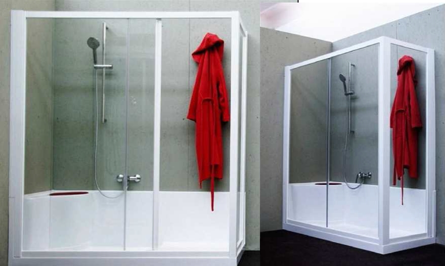 Trasformazione vasca da bagno a box doccia box doccia torino - Vasca doccia da bagno ...