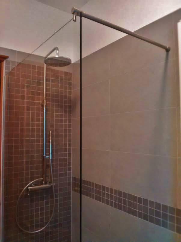Abbassamento cartongesso bagno - Cabine doccia in muratura ...